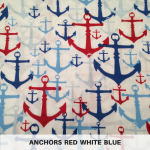 Anchors Red White Blue
