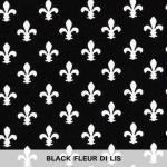 Black Fleur di Lis