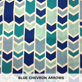 Blue Chevron Arrows
