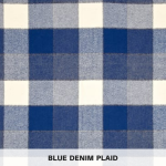 Blue Denim Plaid