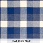 Blue Denim Plaid