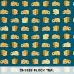 Cheese Block Teal