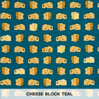 Cheese Block Teal