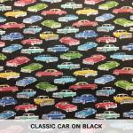 Classic Car on Black