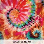 Colorful Tie Dye