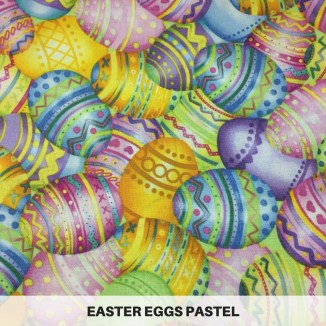 Easter Eggs Pastel