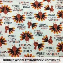 Gobble Wobble Thanksgiving Turkey