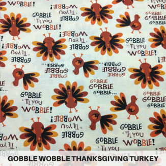 Gobble Wobble Thanksgiving Turkey