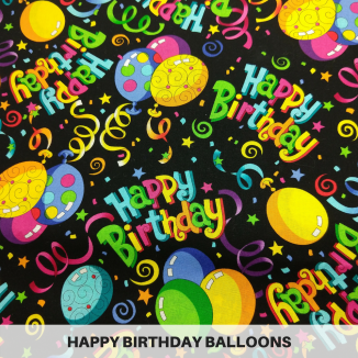 Happy Birthday Balloons