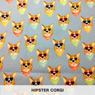 Hipster Corgi