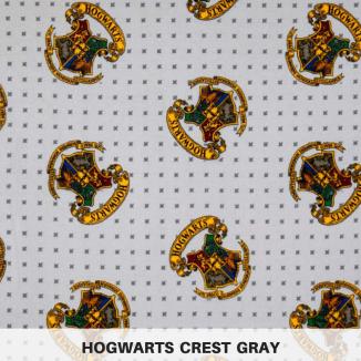 Hogwarts Crest Gray