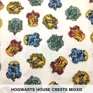 Hogwarts House Crests Mixed