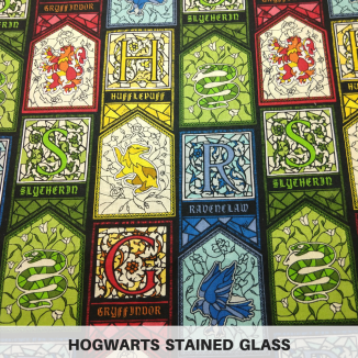 Hogwarts Stained Glass