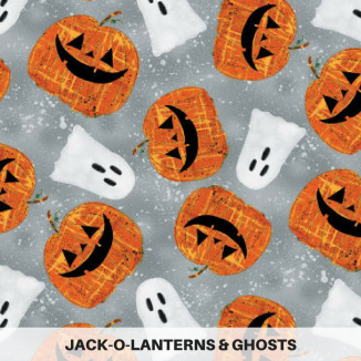 Jack-o-Lanterns & Ghosts