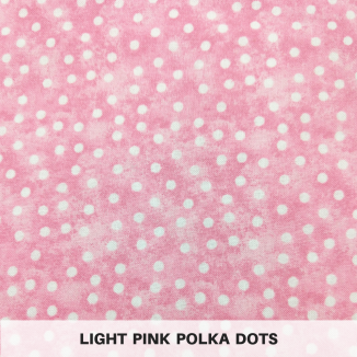 Light Pink Polka Dots