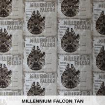 Millennium Falcon Tan