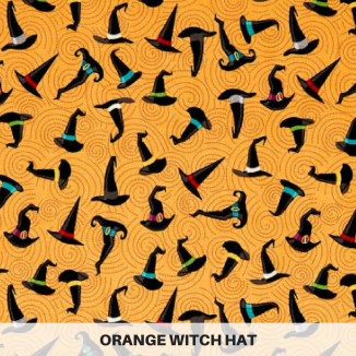 Orange Witch Hat