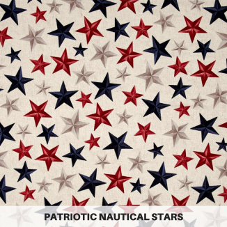 Patriotic Nautical Stars