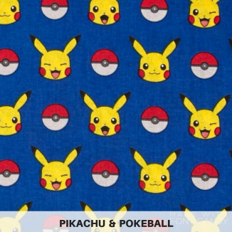 Pikachu & Pokeball