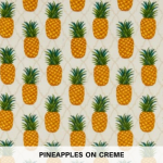 Pineapples on Creme