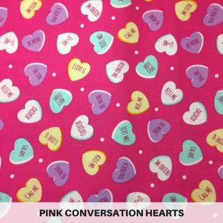 Pink Conversation Hearts