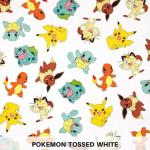 Pokemon Tossed White