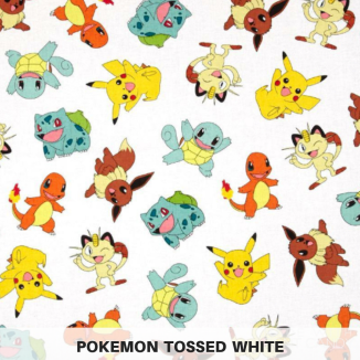 Pokemon Tossed White