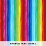 Rainbow Paint Stripes