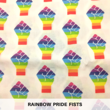 Rainbow Pride Fists