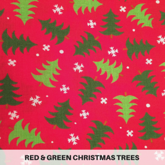 Red & Green Christmas Trees