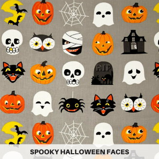 Spooky Halloween Faces