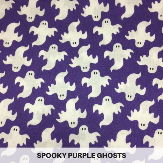 Spooky Purple Ghosts