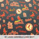 St. Louis Cardinals Logo Navy