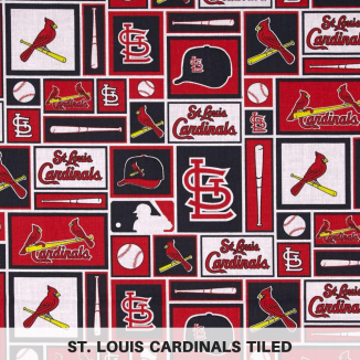St. Louis Cardinals Tiled