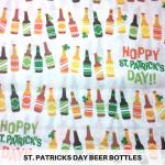 St. Patrick's Day Beer Bottles