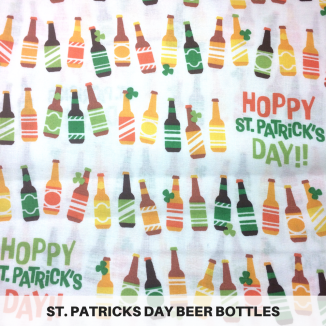 St. Patrick's Day Beer Bottles