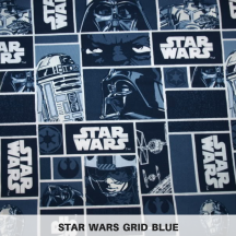 Star Wars Grid Blue