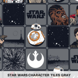 Star Wars Tiles Gray
