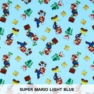 Super Mario Light Blue