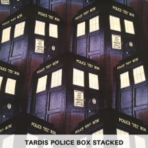 TARDIS Police Box Stacked