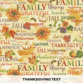 Thanksgiving Text
