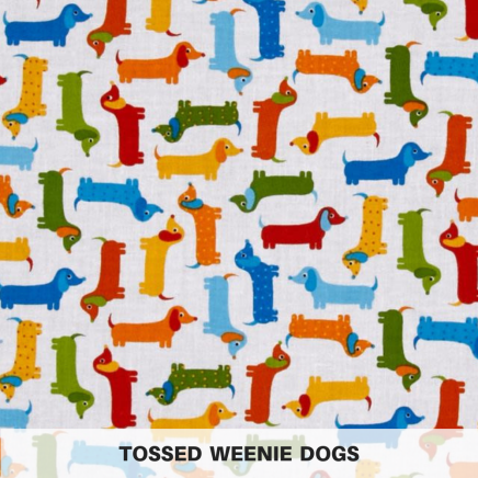 Tossed Weenie Dogs