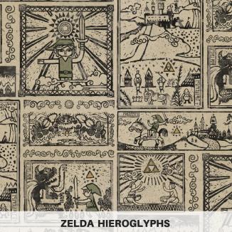 Zelda Hieroglyphs