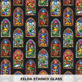 Zelda Stained Glass