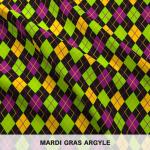Mardi Gras Argyle