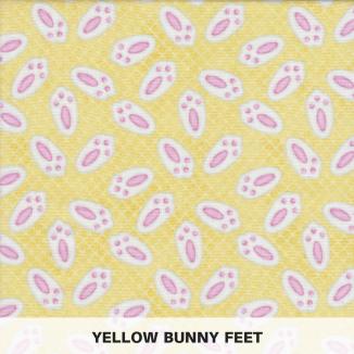 Yellow Bunny Feet