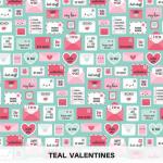 Teal Valentines