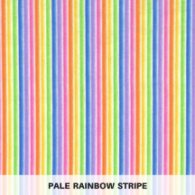 pale rainbow stripe