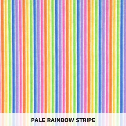 pale rainbow stripe