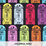 Colorful R2D2